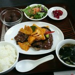 中国料理 桃花園 - Eランチ 1390円