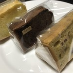 chiffoncafe Favori  - 今回購入したシフォンケーキ