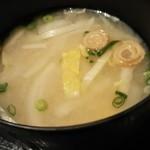 冨々 - 具たくさん味噌汁