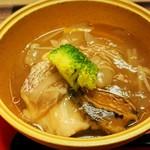 ホテルニューアワジプラザ淡路島 - 桜鯛と鮑の春野菜あんかけ