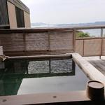 ホテルニューアワジプラザ淡路島 - 離れの露天風呂からの眺望