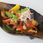 ワルン・マタハリ - 魚のあんかけトマトソース風味