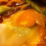 鈴家 - 味噌煮込みうどん(玉子)