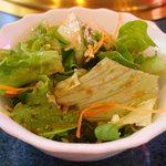 みつまた - 定食のサラダ