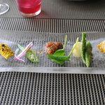イロナキカゼ - 前菜(大地の恵み)