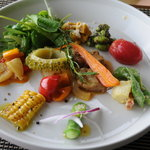 イロナキカゼ - 前菜(風のコース)