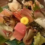 85811151 - 本日の鮮魚ゑびす盛り