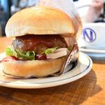 肉が旨いカフェ NICK STOCK - NICK バーガーセット