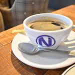 肉が旨いカフェ NICK STOCK - ブレンドコーヒー