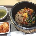 韓国料理 bibim - 石焼プルコギビビンバ(960円)