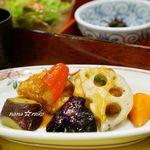 さんるーむ - 国産若鶏と彩り野菜の黒酢あんかけ