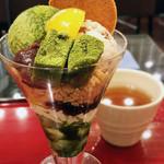 茶カフェ 上辻園 - 抹茶パフェ