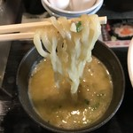 めん屋 高樹 - 麺リフトアップ