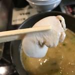 めん屋 高樹 - 鶏チャーシュー