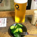 85822839 - ビール&お通し