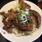 風龍 - ミニ牛すじ丼