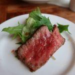 肉割烹 門 - トモサンカクのステーキ
