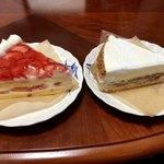 85823630 - ショートケーキ、リコッタチーズとルバーブのタルト