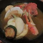 85823843 - 函館近海魚介ブイヤベース