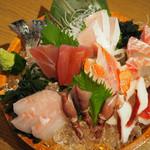 大魚 - 本日の鮮魚盛り(5種盛り)