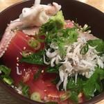 鮨割烹 廉 - 地魚づけ丼