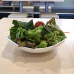串カツ 豪 - お通しのサラダ