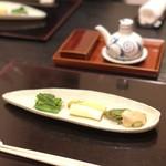 85826364 - あずき菜 ホワイトアスパラ タラの芽
