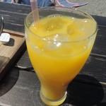 音楽と珈琲の店 岬  - オレンジジュース