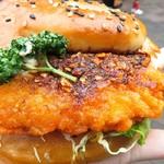 85828737 - 食べるラー油若鶏サンド