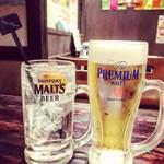 牛列 - 生ビール&チューハイ