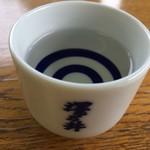 澤乃井 きき酒処 - こう500円