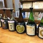 澤乃井 きき酒処 - 注文カウンター