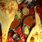 ネパールキッチン Kathmandu - ランチのタルカリセット♪
