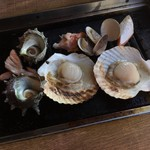 浜焼き しんちゃん - 海鮮盛り②