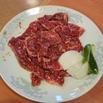 焼肉苑 - 料理写真:サガリ 三人前