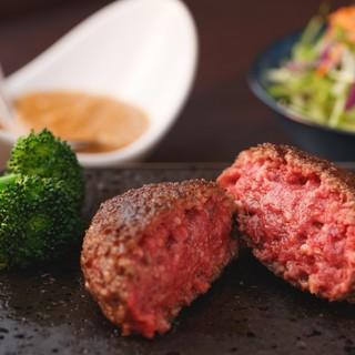 当店のウリ★和牛100%の絶品ハンバーグランチ/ディナー