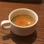 85835092 - メイン前のスープ。