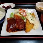 居酒屋 嵯峨 - 日替わり定食 650円