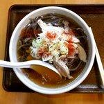 麺屋 はやさか - 冷たい肉そば(650円)