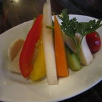 湘南の魚とワインの店 ヒラツカ - 地野菜のピクルス