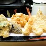 Tensuke - 玉子ランチの天ぷら