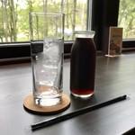 宮の森珈琲 - セットのアイスコーヒーです。