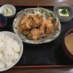 Tratt庖丁六番店 - 日替わり定食(唐揚げサルサソース)