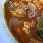 曉 - 辛さ50番スープ