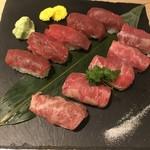 85841985 - 肉寿司