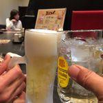 和鶏屋 - H.30.3.25.夜 ハイボール vs 生ビール de 乾杯♪