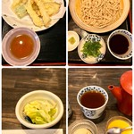 そば処 郡上 - 料理写真:天ざるそば 1512円