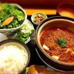 家庭料理 まこ - 【ランチ】韓国風マーボー豆腐セット