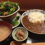 家庭料理 まこ - 【ランチ】トマトカレーセット