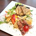 銀座ル・コチア - 前菜三種の盛り合わせ